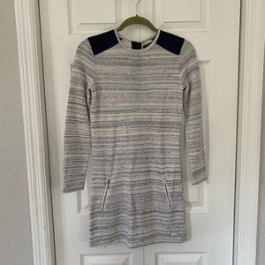 NWOT 7 for all mankind • french terry shift dress